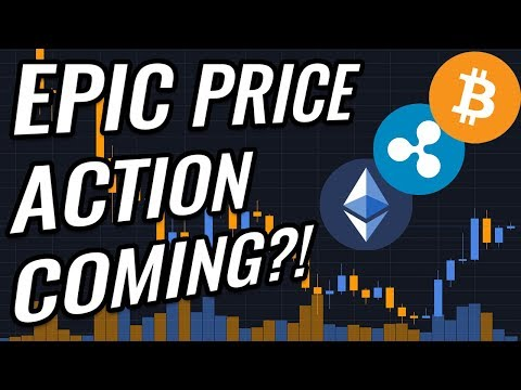 EPIC Price Action Coming To Bitcoin & Crypto Markets! BTC, ETH, XRP, BCH & Cryptocurrency News!