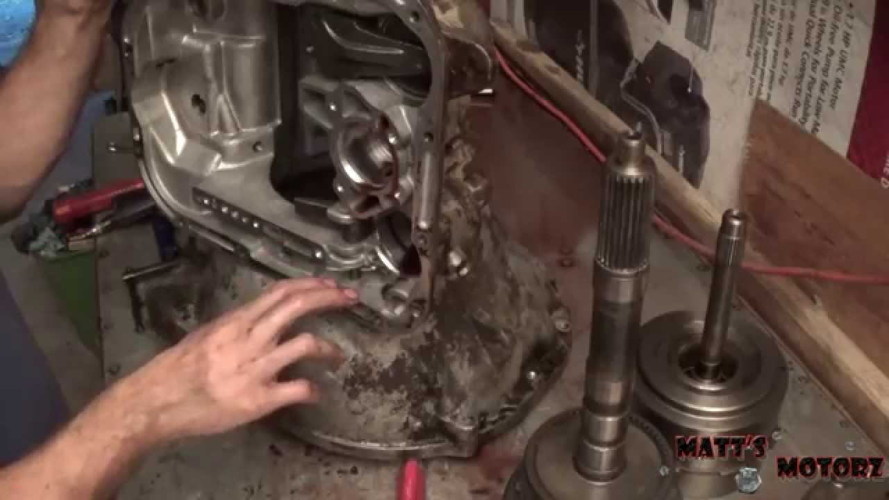 42rh a500 transmission rebuild part 1 tear down [ 1280 x 720 Pixel ]