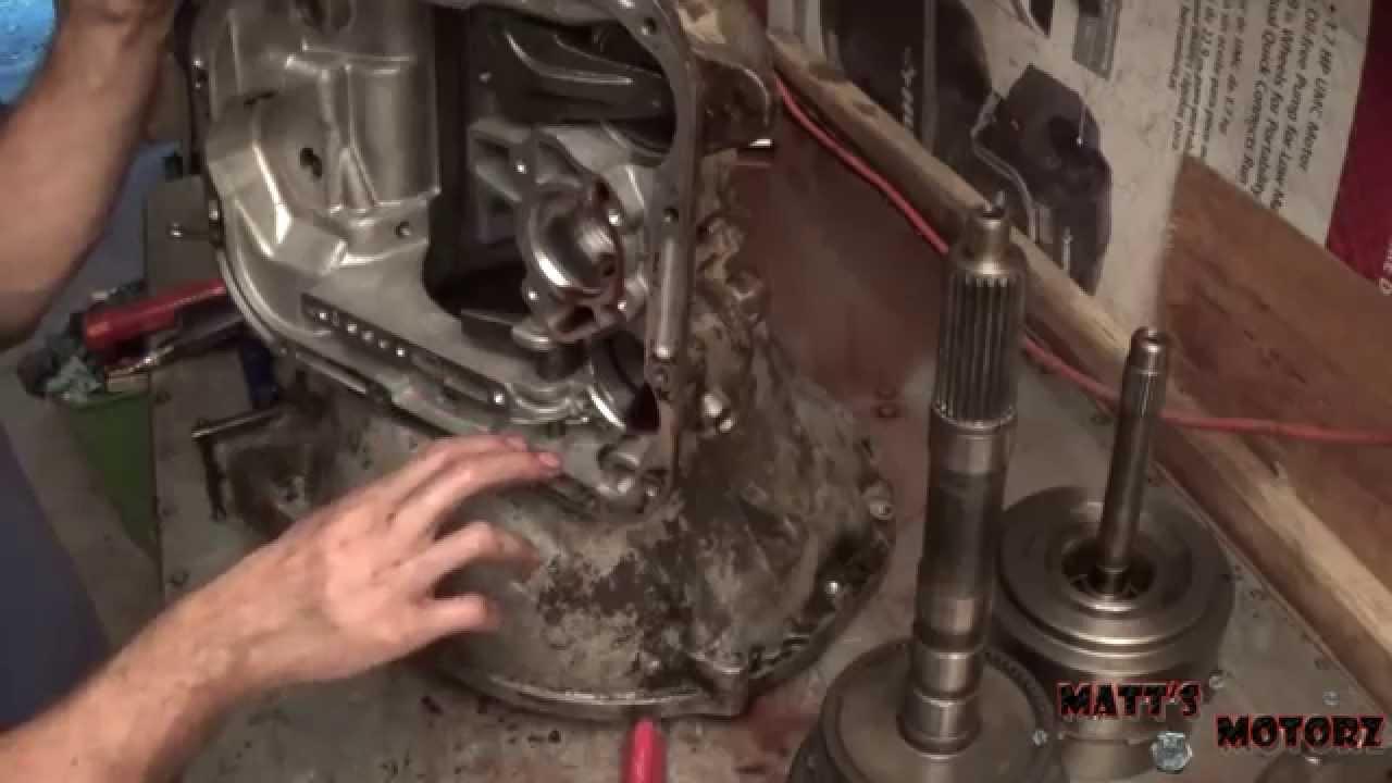 42rh A500 Transmission Rebuild Part 1