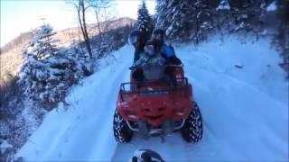 Отдых Карпаты Мигово, катаемся на лыжах, квадриках, чан