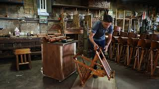 How to Assemble a Costa Rican Rocking Chair
