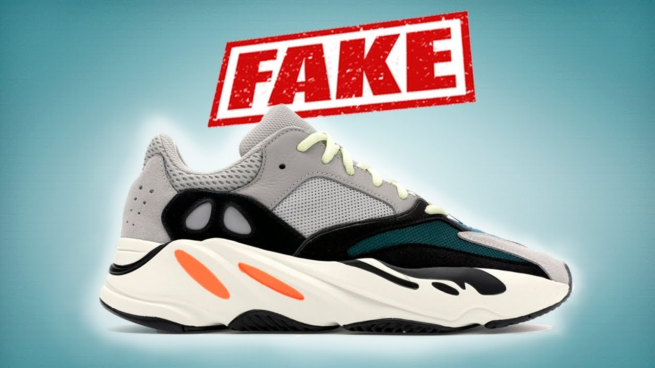 356f4e34e ADIDAS YEEZY BOOST 700  REAL vs FAKE - YouTube
