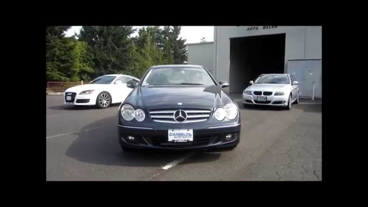 2007 Mercedes Benz CLK350 for sale Portland Oregon - YouTube