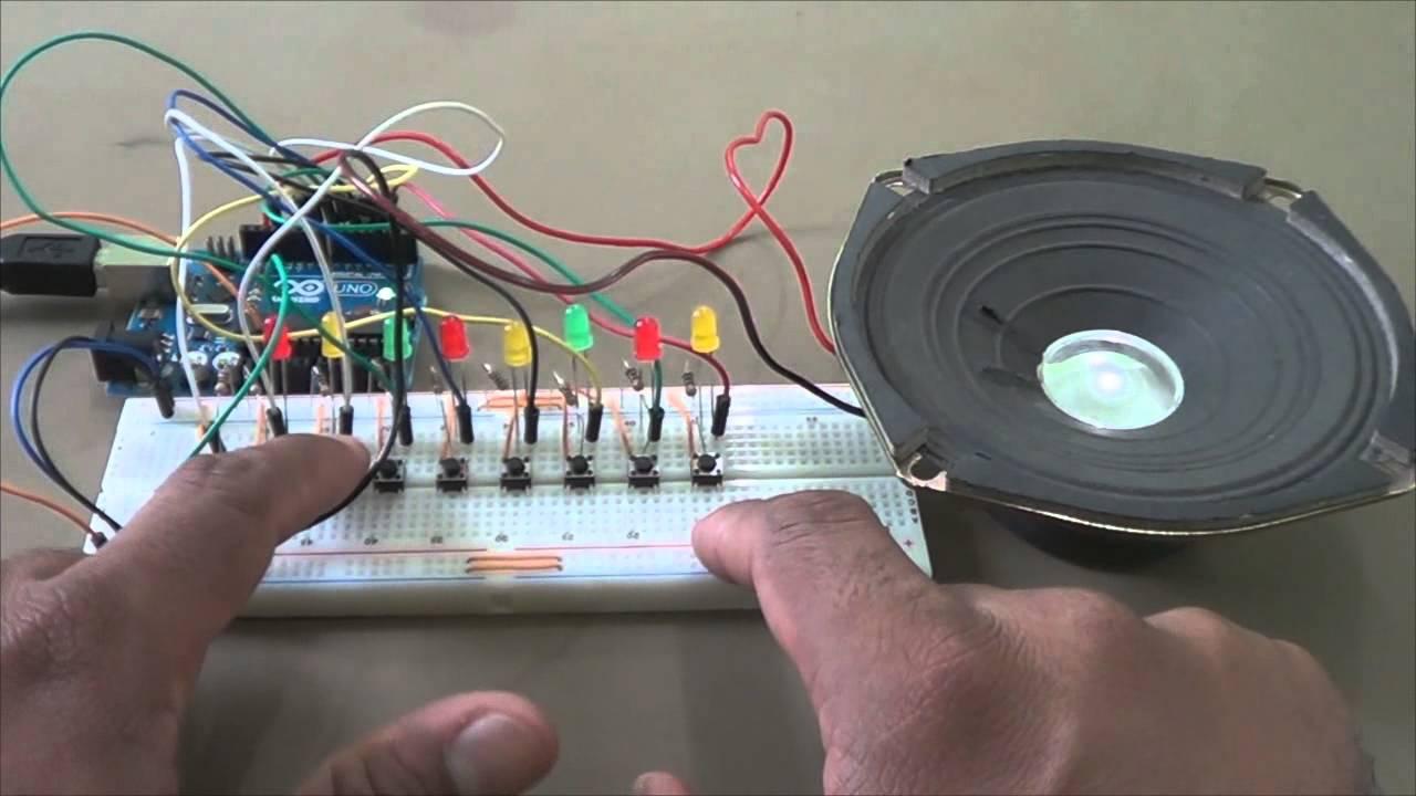 Teclado musical com gravador de notas youtube