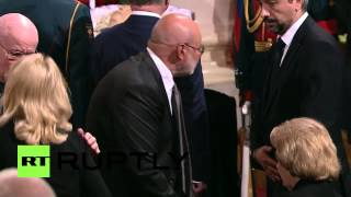 Russia: Gorbachev and Communist Party leader attend Primakov