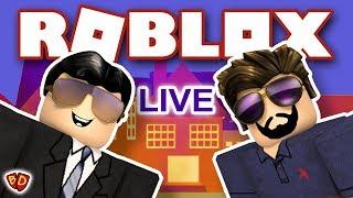 🔴 Roblox Live | Bloxburg and Sharkbite | Ben and Dad