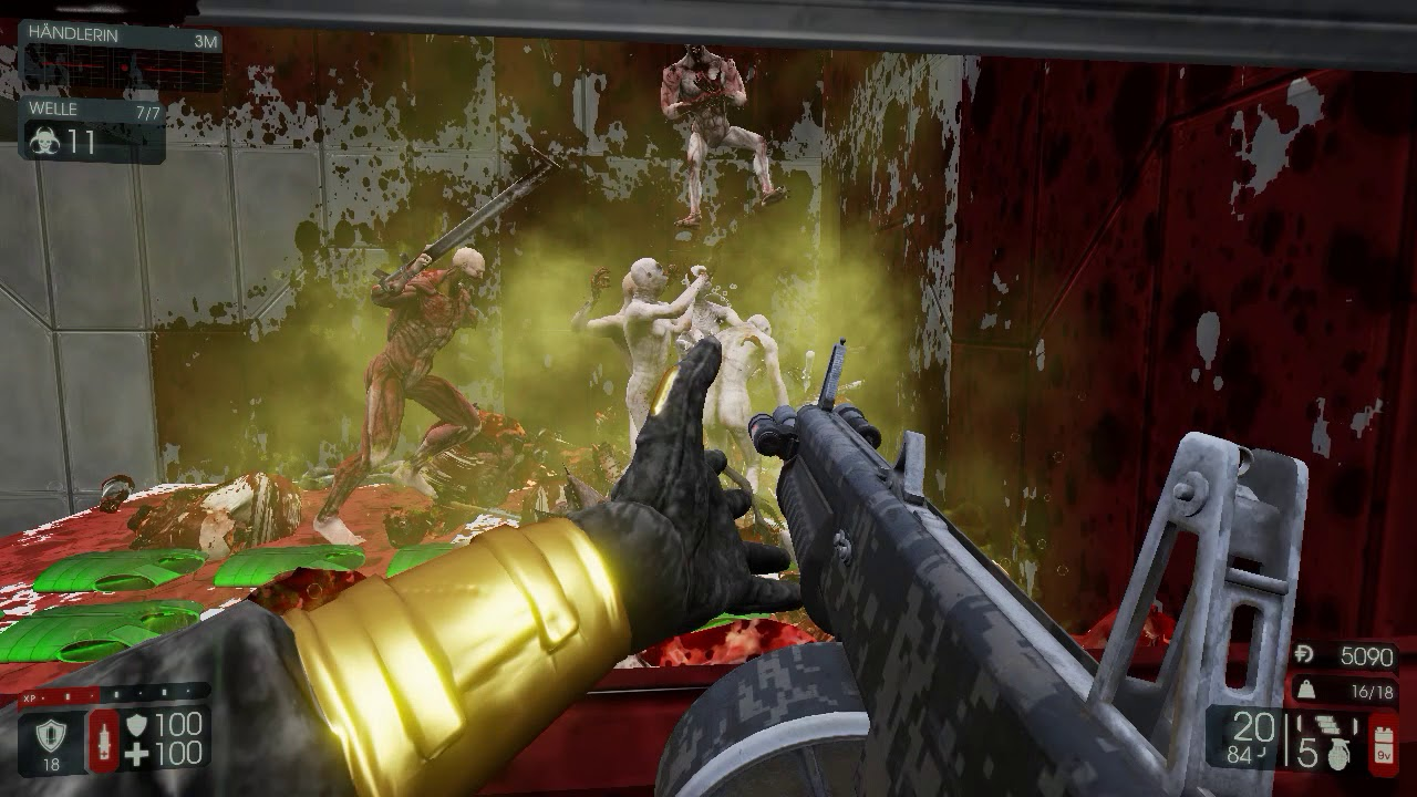 killing floor 2 exp