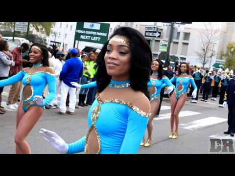 Southern University Dancing Doll Highlights @ Bayou Classic Parade (2015)