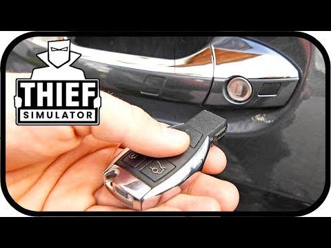 Thief Simulator - Den AUTOSCHLÜSSEL mit einem Sensor HACKEN #20   Einbrecher Simulator
