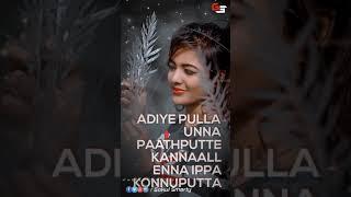 Adiye pulla unnA paathuputan album song status video