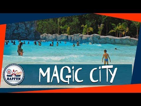 Diversão no Magic City - Parque Aquático em Suzano SP