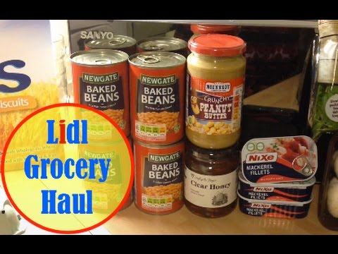 Lidl Grocery Food Haul Slimming World Friendly Youtube