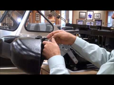 Wooldridge Boats  |  Installing Flow Tec Linkage on a Sport Jet