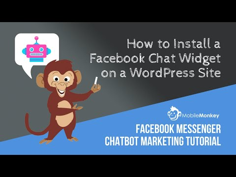 MobileMonkey Website Chat Widget Installation Tutorial For WordPress