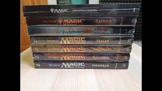 OBRÁZKOVÉ KNIHY - The Art of Magic the Gathering a Concepts & Legends