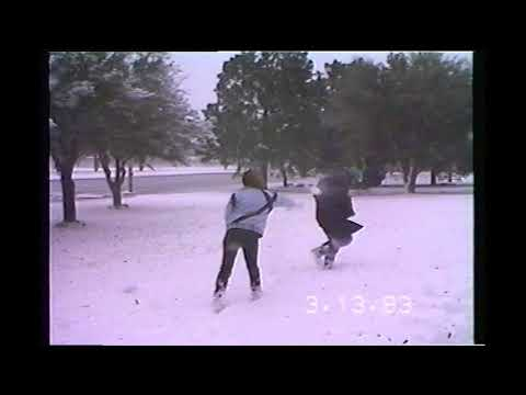Ep 1 Johnny Blayze's VHS Classic Rewind Montgomery Alabama March 1993 Blizzard Face Full of Snow