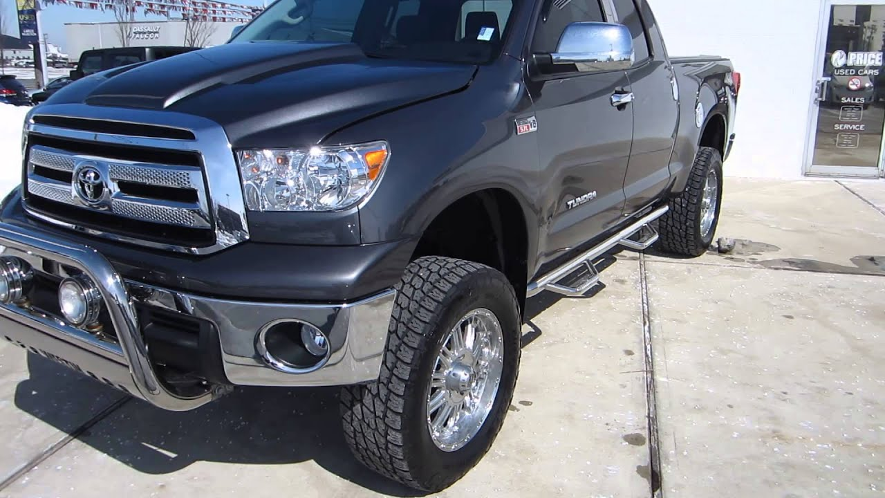 2012 toyota tundra double cab 6 lift backup navi sold youtube. Black Bedroom Furniture Sets. Home Design Ideas