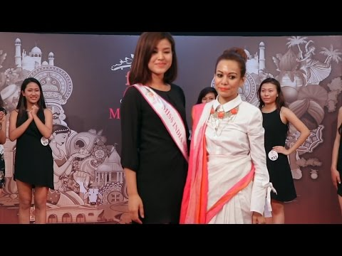 Unveiling Of North East Winners:  fbb Colors Femina Miss India 2017