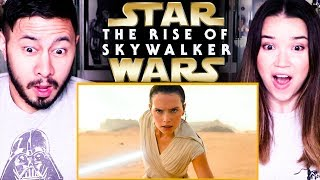 STAR WARS: THE RISE OF SKYWALKER | Episode IX | Teaser Reaction!