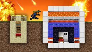 видео: БУНКЕР ЗА 1$ vs БУНКЕР ЗА 1.000.000$ - Успей построить Бункер! Апокалипсис в Майнкрафте