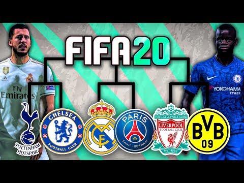 BEST TEAM IN FIFA 20 TOURNAMENT CHALLENGE!!