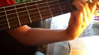 (2 часть) разбор песни на гитаре
