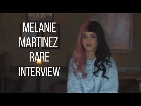 Melanie Martinez Rare Interview (Not Recent)