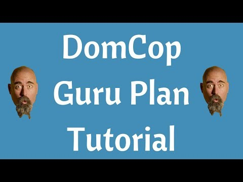 DomCop Guru Plan Expired Domains Crawler Pre Beta Review