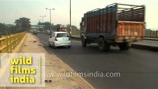 Smooth Traffic Flow On Mahatma Gandhi Setu Bridge In Patna