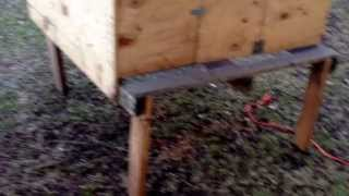 My Cheap Hen House/chicken Coop...diy!!!