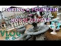 PICKING OUT A FOUNTAIN AND HOUSE UPDATE - VLOG EP 47