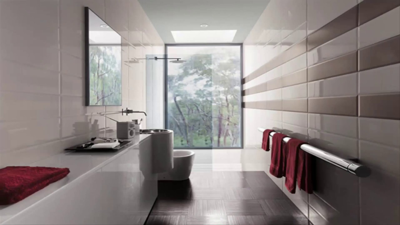 80 Awesome Contemporary Bathroom Design Ideas - YouTube