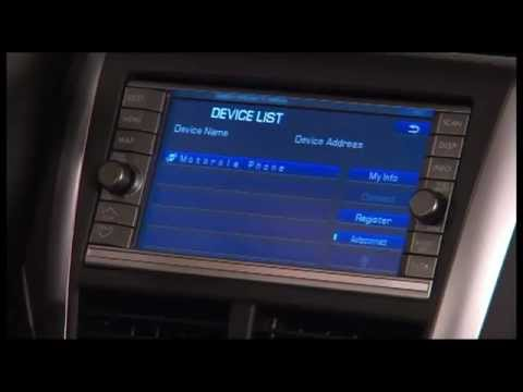 How to use Subaru Type 3 Bluetooth with Navigation System