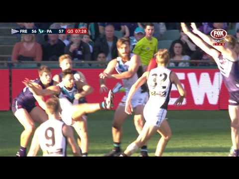 Round 13 AFL - Fremantle v Port Adelaide Highlights
