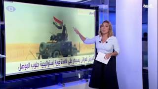 #أنا_أرى القوات العراقية تحرر قاعدة القيارة جنوب الموصل