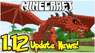 MINECRAFT 1.12 UPDATE NEWS: DRAGON SKELETON FOSSILS, FEATURES & MORE!