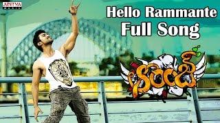 Hello Rammante Full Song II Orange Movie II Ram Charan Teja, Genelia D'Souza