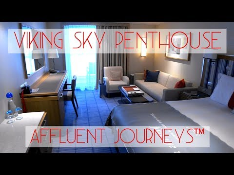 Viking Sky Penthouse Veranda Tour
