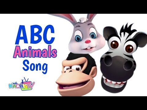ABC Animals Song | Nursery Rhymes for Kids by Kachy TV - Kids Songs