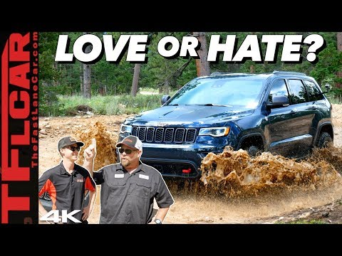 Why I Bought a Jeep Grand Cherokee Trailhawk & NOT A Wrangler | Dude I Love (Or Hate) My Ride!