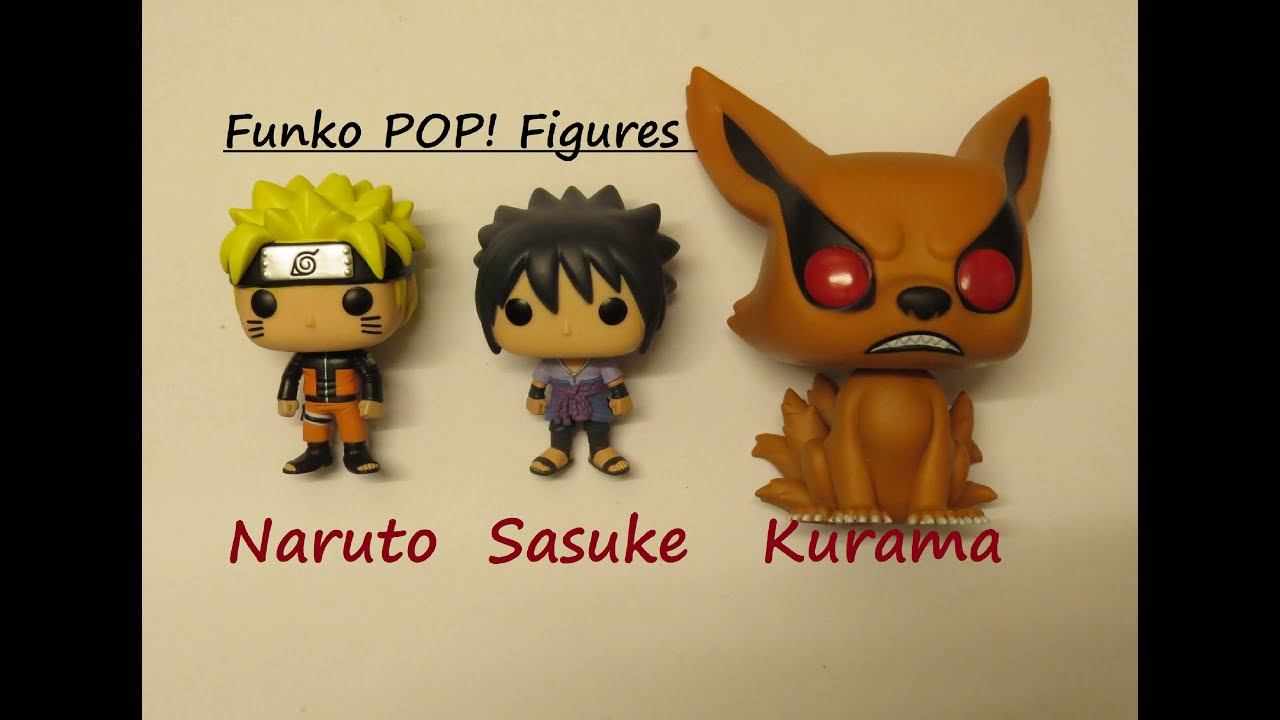 naruto sasuke kurama funko pop figures unboxing funko. Black Bedroom Furniture Sets. Home Design Ideas