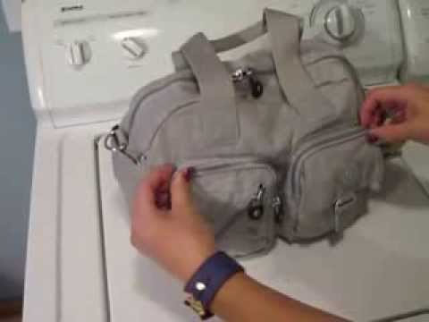 b2a416169d My Kipling Defea handbag packed for a toddler - YouTube