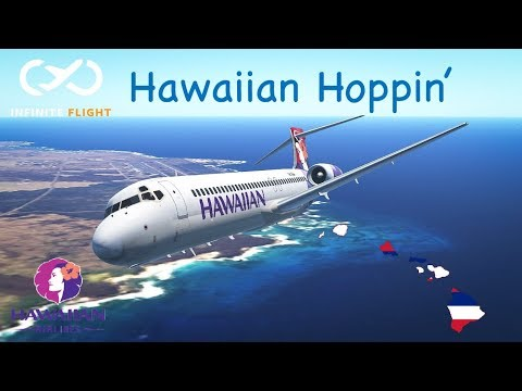 |Infinite Flight| Hawaiian Island Hopping | Dash-8 B717 [Exploring the Americas; Episode 15]