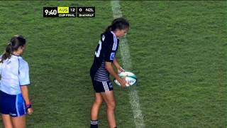 Australia vs New Zealand Women Rugby 7s - Brazil 2014