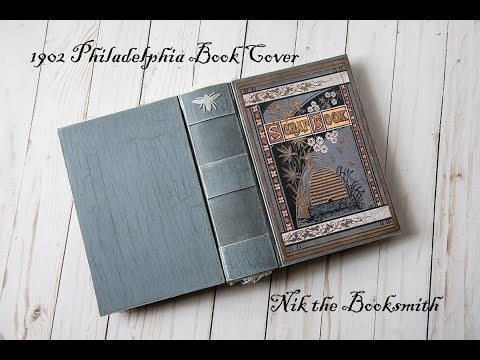 1902 Philadelphia Book Cover - Course by Nik the Booksmith