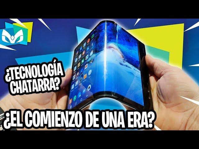 USE EL PRIMER TELEFONO FLEXIBLE DEL MUNDO #CES2019 SENTIMIENTOS ENCONTRADOS