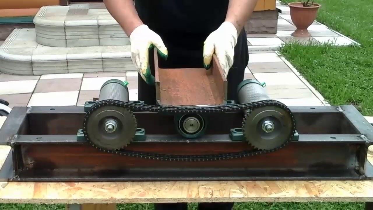 Как самому сделать трубогиб. Self made pipe bender.