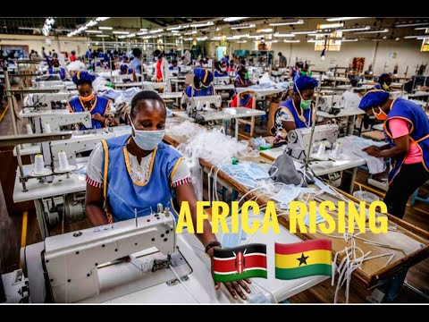 COV!D-19: THE BIRTH OF AFRICA'S INDUSTRIAL REVOLUTION? KENYA AND GHANA LEADING!