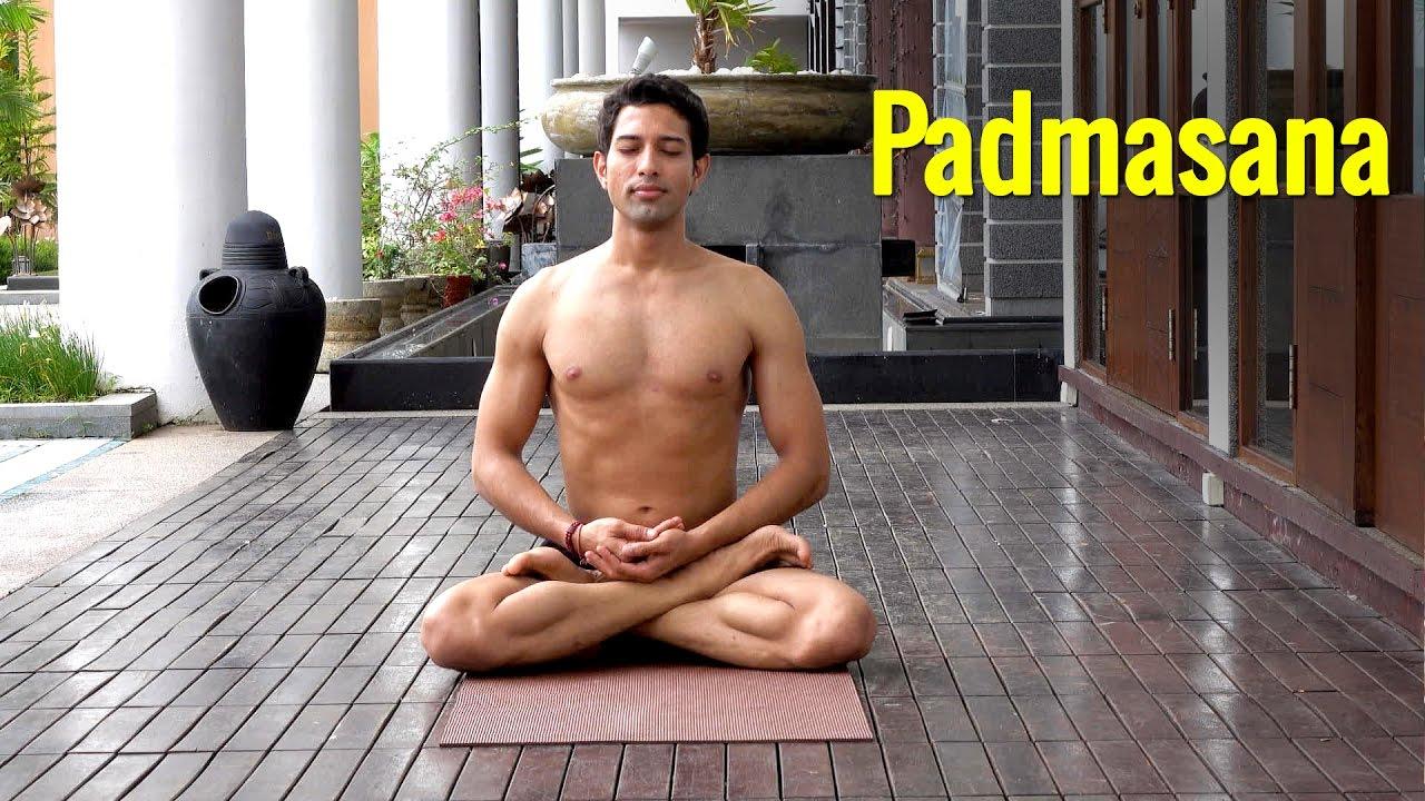 Padmasana The Lotus Posture For Meditation In Yoga