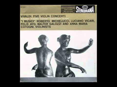 Vivaldi Il Sospetto - Allegro (I Musici; Luciano V...